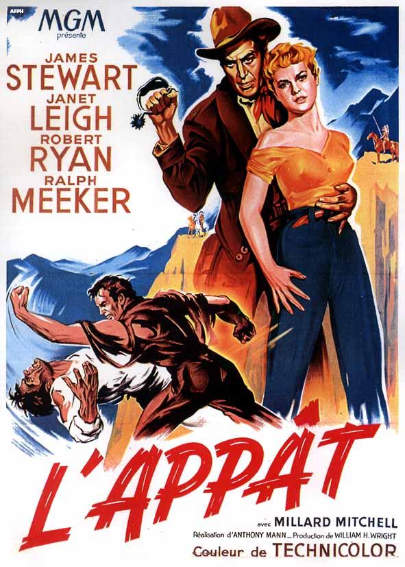 L'Appât (1953) affiche